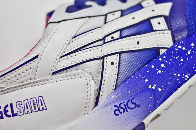 Extra Butter NY x ASICS Gel Saga Cottonmouth gradient upper