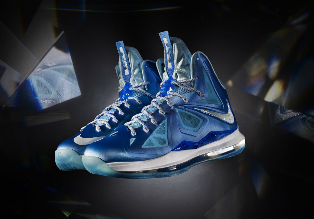 34843d23c627 Nike LeBron X 10 Introduced Blue Diamond (1)