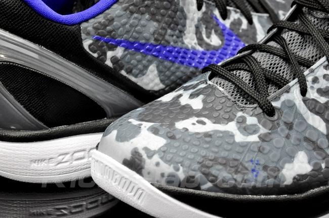 99997a164061 Nike Zoom Kobe VI Camo - Concord Black-White - New Images