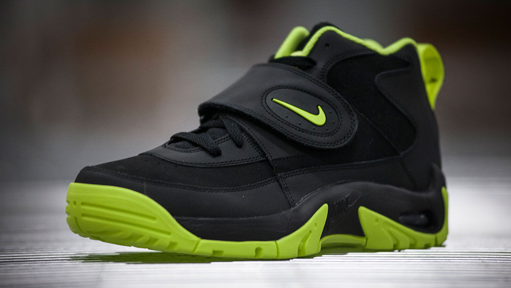 1595c1d0be Junior Seau's Nike Air Mission Footprint in 'Volt' | Sole Collector