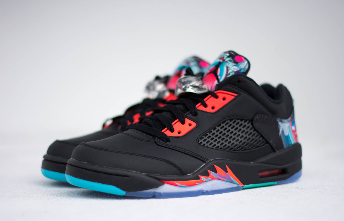 511dcd7e622a Release Date  Air Jordan 5 Low  Chinese New Year