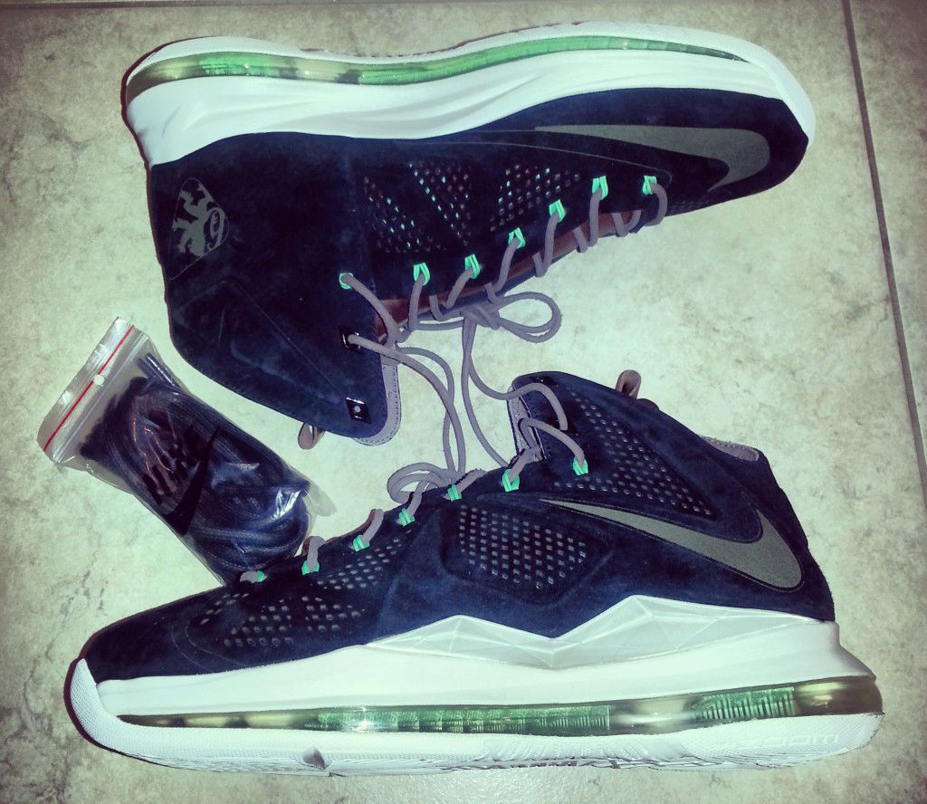 Spotlight // Pickups of the Week 5.26.13 - Nike LeBron X EXT Black Suede by Wit-E-Beats