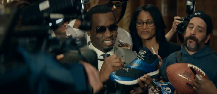 Nike Football presents Calvin and Johnson with Sean Diddy Combs