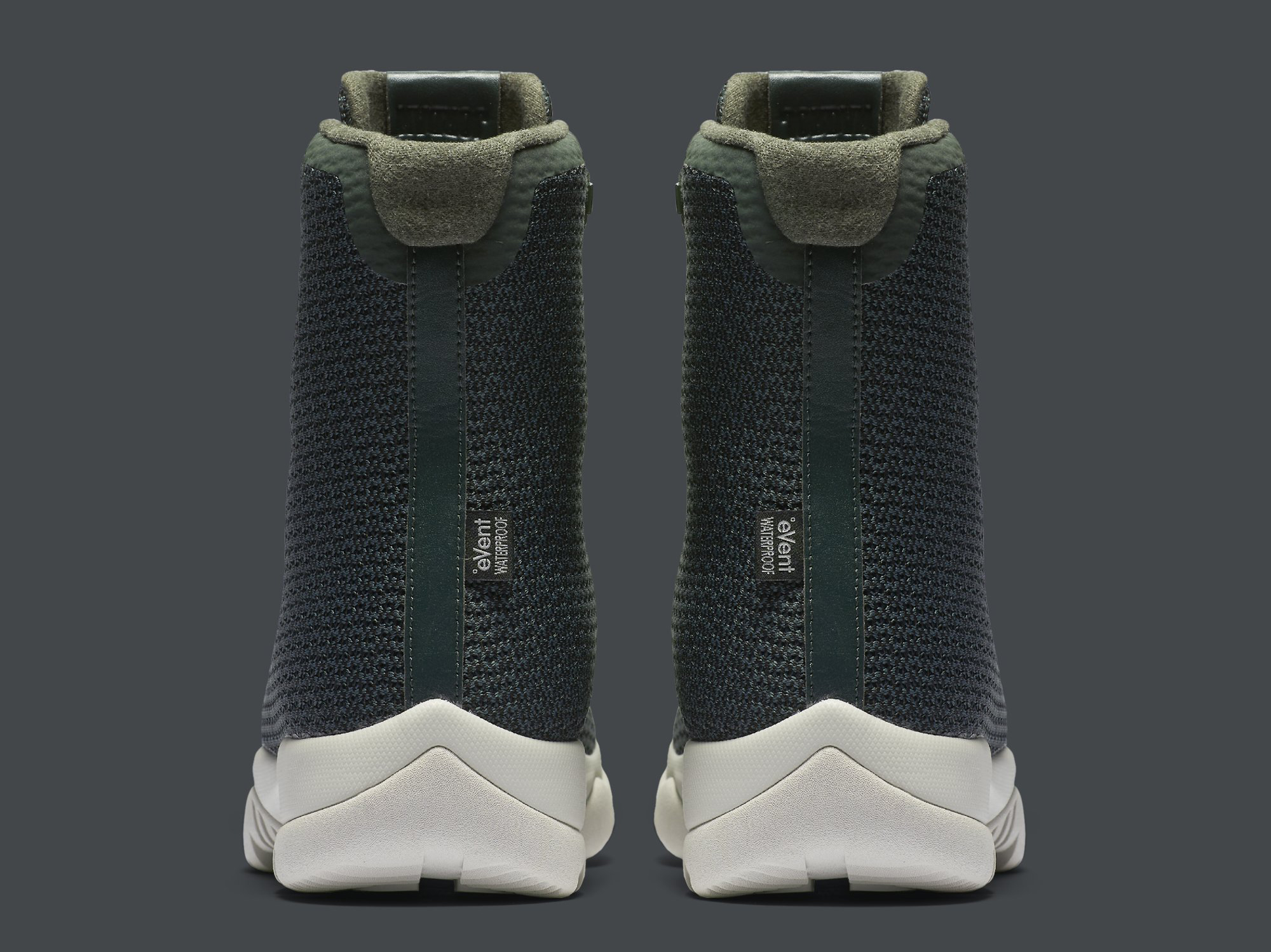 Jordan Future Boot Grove Green 854554-300 Heel