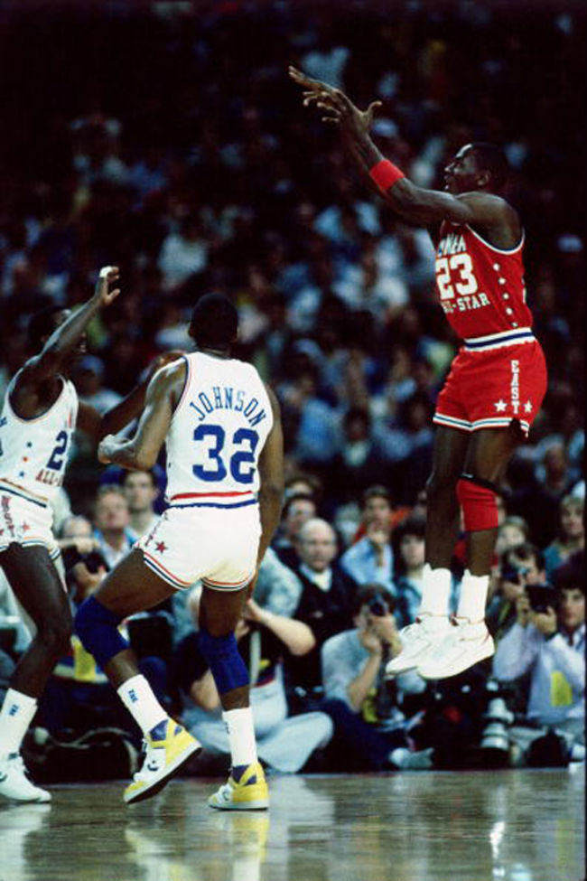 #2350 // 50 Classic Michael Jordan All-Star Game Photos (30)