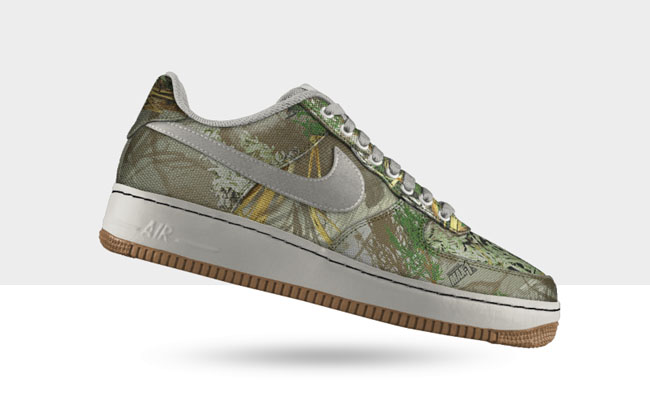 2e4b4b1ae96d5 We've seen many different camo variations used on Air Force 1s over the  years, and now you can create your own.
