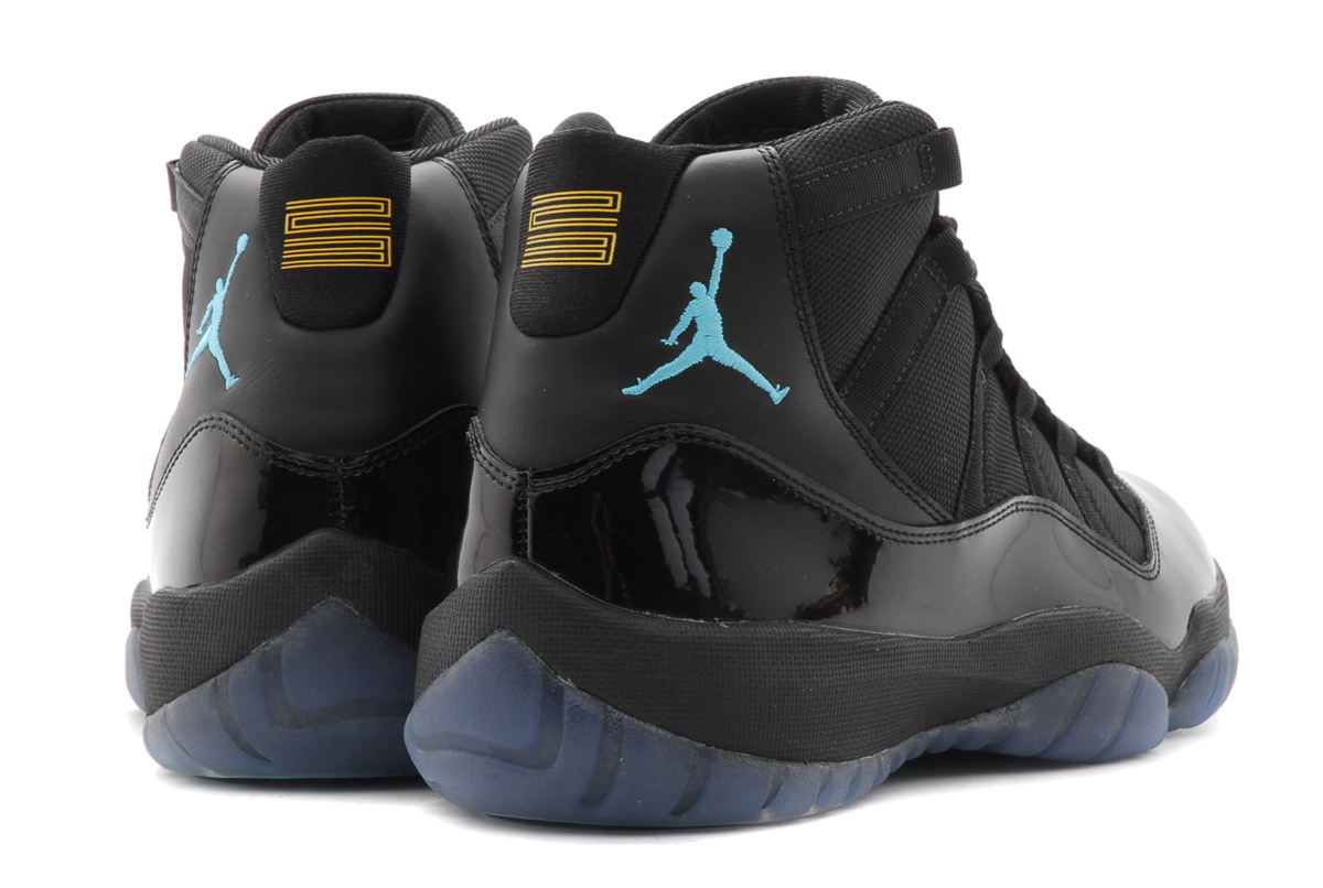 the latest a2a81 73ef3 Air Jordan 11 Retro Gamma Blue heel
