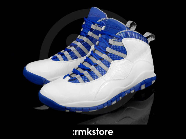5a0984a2b50 Air Jordan Retro 10 - White/Old Royal-Stealth | Sole Collector