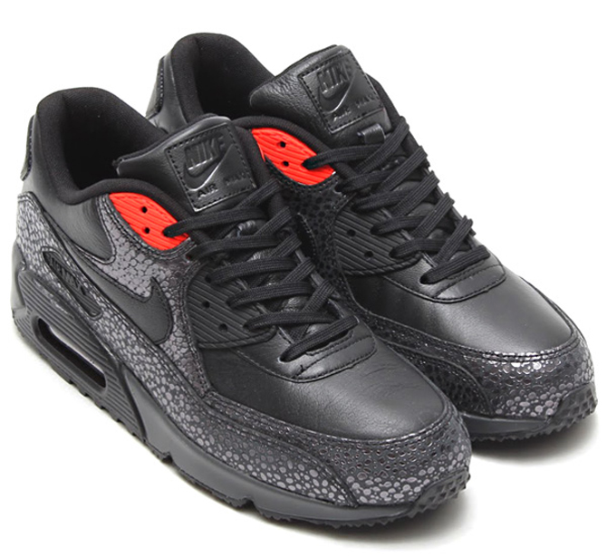 release date: be273 2de83 Nike Air Max 90 Deluxe BlackBlack-Infrared-Anthracite 684710-001
