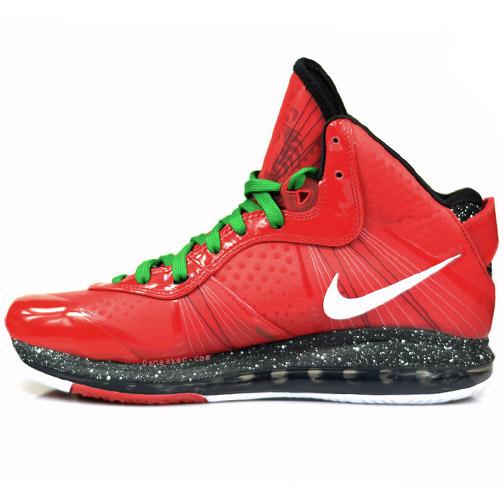 Nike Air Max LeBron 8 V/2 - Christmas