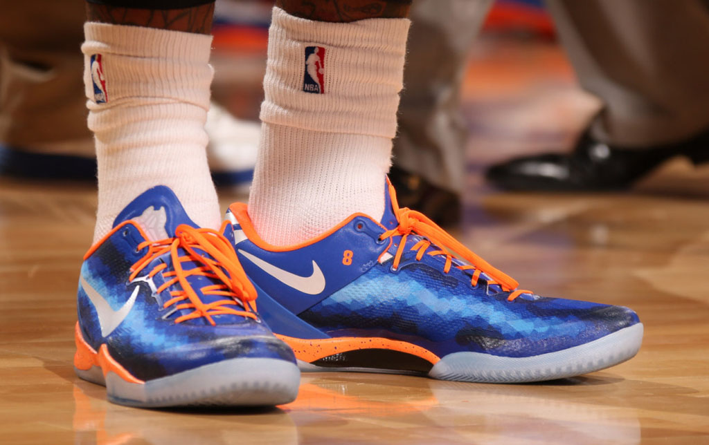 J.R. Smith's Knicks NIKEiD Kobe 8 (2)