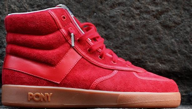 Pony Slam Dunk Red/Gum