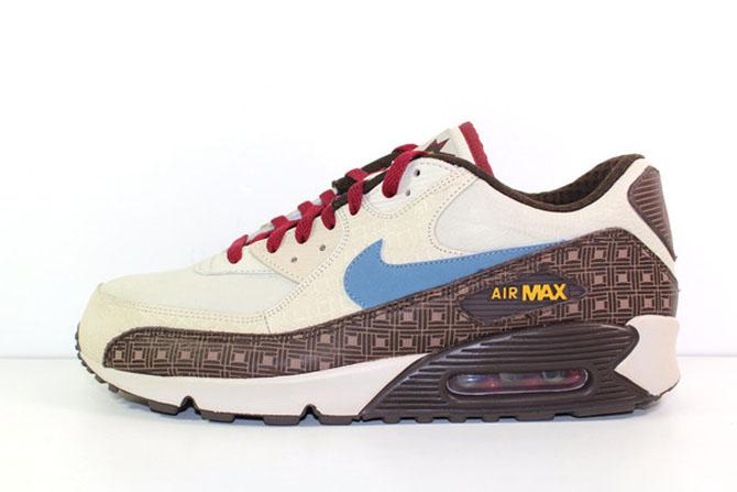 Nike Torche Air Max 4 De La Suprématie Blanche