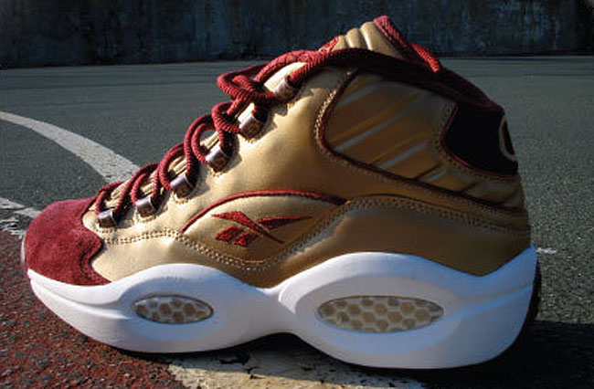 Reebok Question Boston College PE
