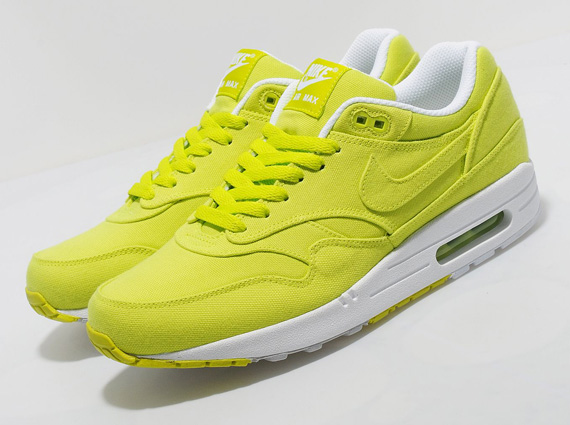 nike air max 1 denim cyber yellow construction