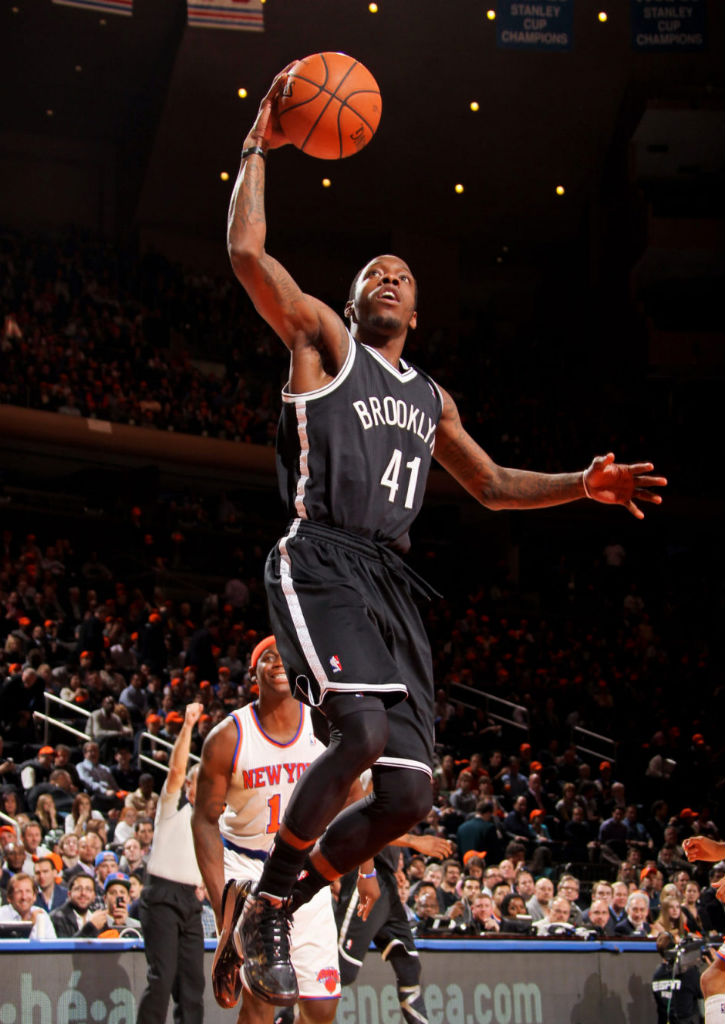 Tyshawn Taylor wearing adidas adizero Crazy Light 2