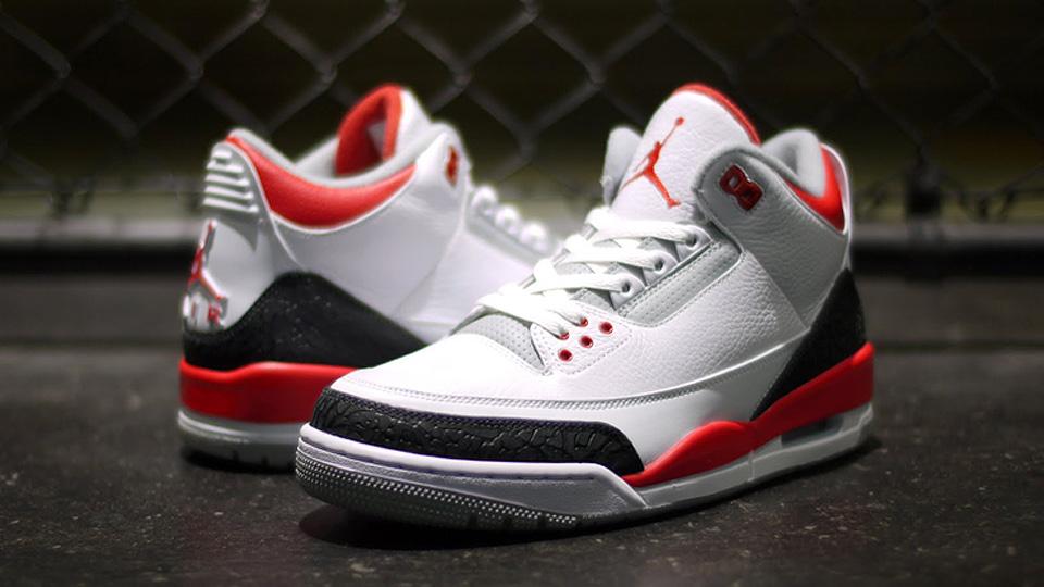 Air Jordan 3 Retro Fire Red