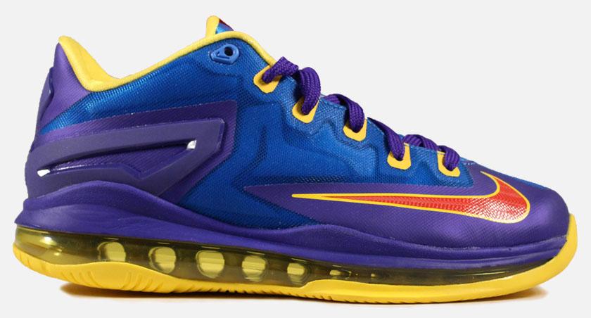 low priced 5a6f3 b7eaa Nike LeBron XI 11 Low GS Superman (1)