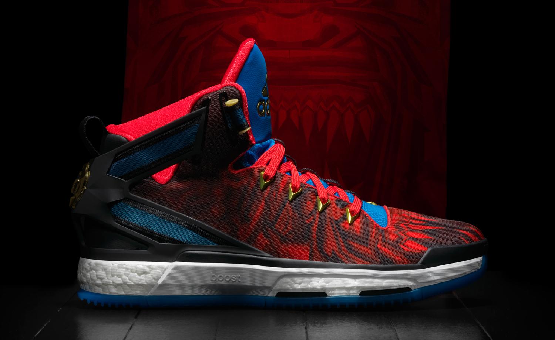 Derrick rose shoes black