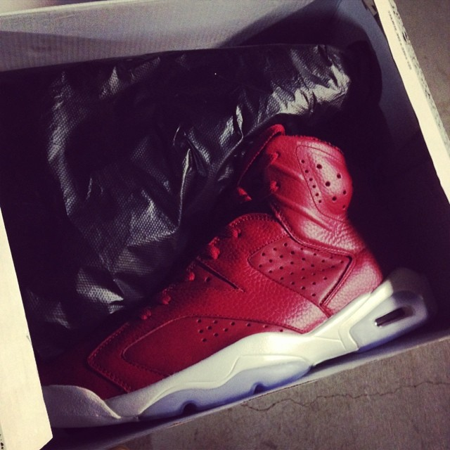 Chris Brown Picks Up Air Jordan VI 6 History of Air Jordan