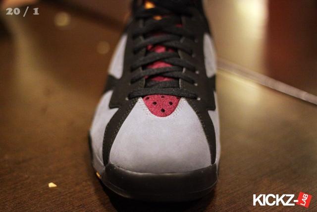 big sale 48da3 af250 Air Jordan Retro 7 Black Light Graphite Bordeaux 304775-003