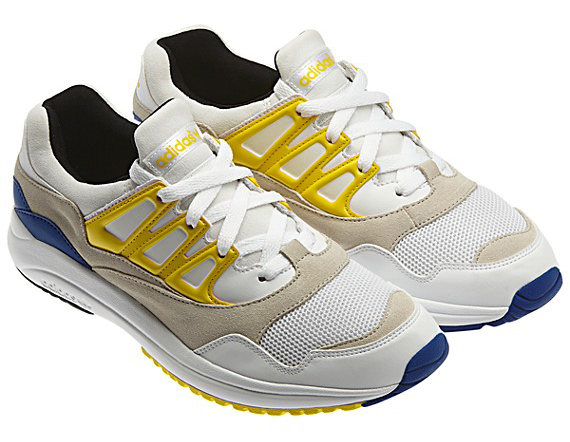 The Running WhiteYellow adidas Originals Torsion Allegra is now available from adidas