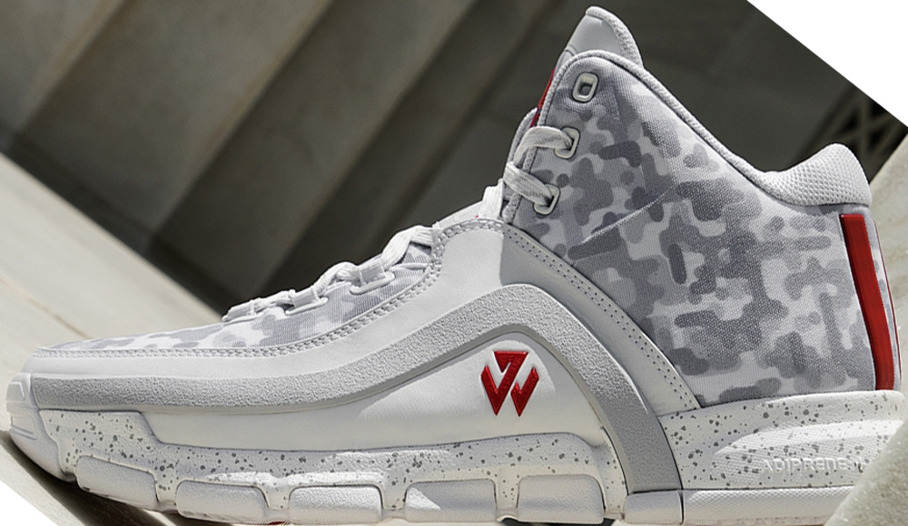 adidas J Wall 2 White/Grey-Scarlet