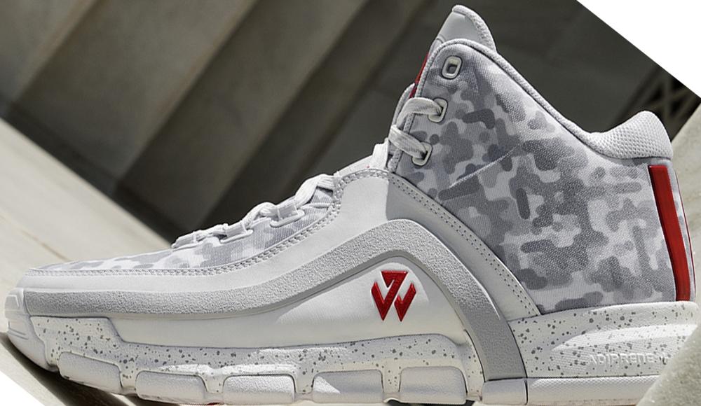 adidas J Wall 2 White/Grey-Scarlet