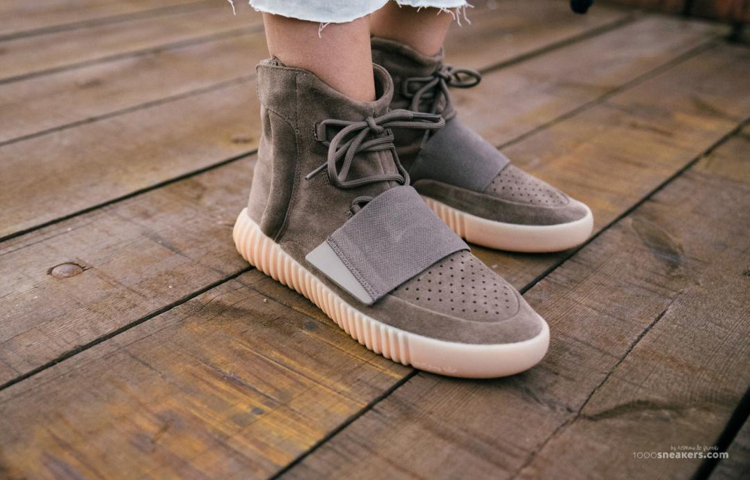 ff65174b Chocolate Adidas Yeezy 750 Boost On Feet | Sole Collector
