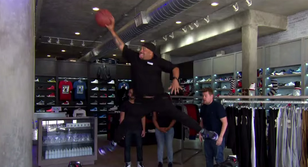 Watch These Sneakerheads Compete for Free Air Jordans on a Late Night Talk Show (Video)