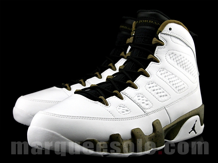 20a238331257 See How the  Statue  Air Jordan 9s Look On-Feet