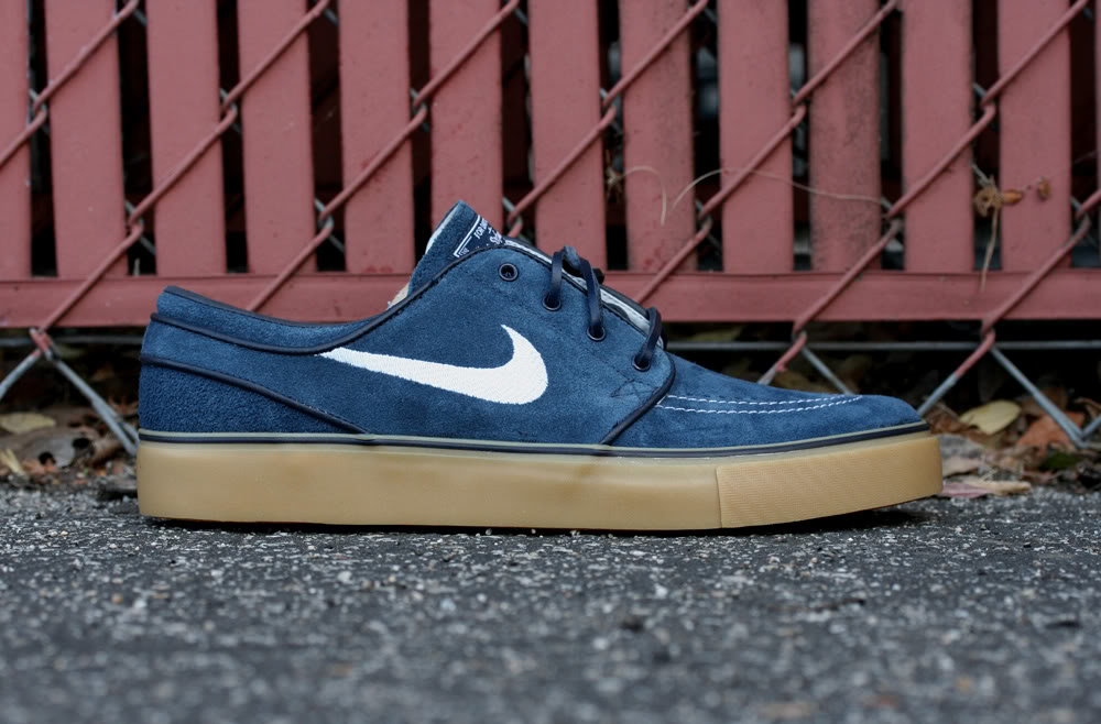 Ostentoso no pueden ver prestar  Nike SB Zoom Stefan Janoski - Obsidian/Gum - New Images | Sole Collector