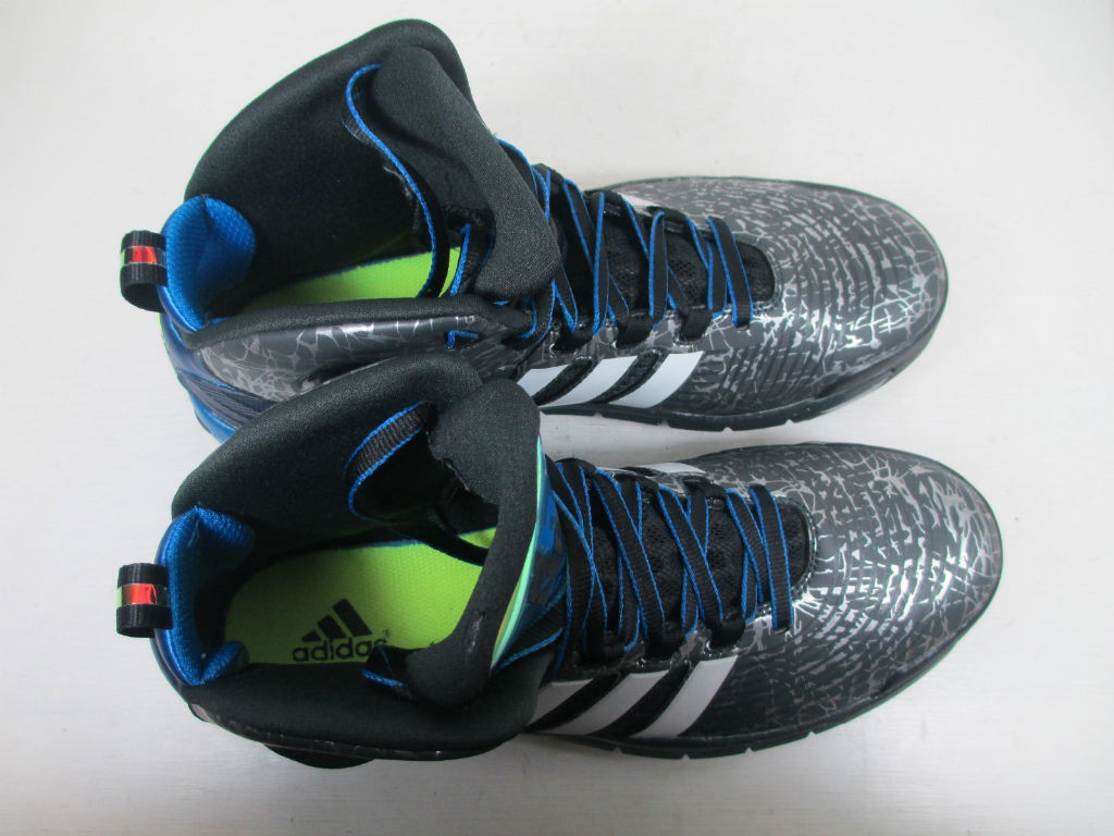 adidas D Howard 4 - Grey/Blue Sample (3)