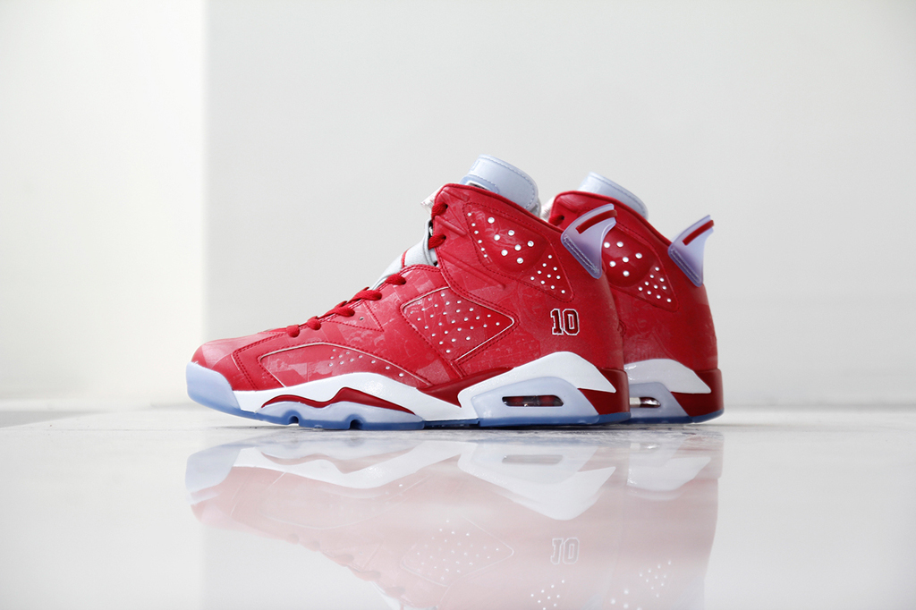 buy popular 04dc1 257cd A Detailed Look at the Slam Dunk Air Jordan 6 Retro and Super.Fly 3