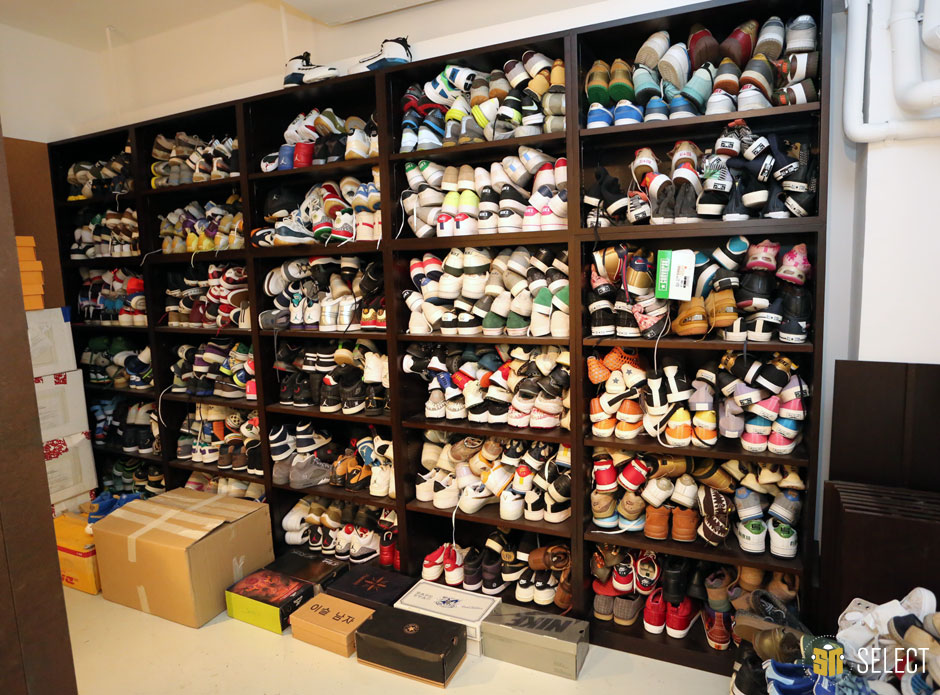 20 of the Most Epic Sneaker Collection Photos You'll Ever ...