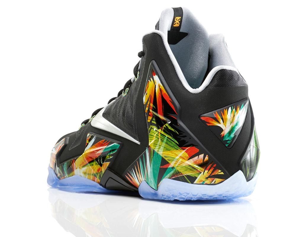 online store 9d8cf a2dd8 Nike LeBron XI 11 Everglades (2)