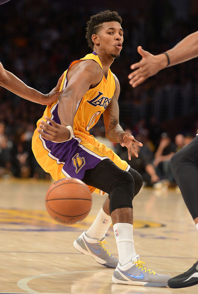 7c0303d1f54 SoleWatch  Nick Young Brings Back the Nike Kobe 4