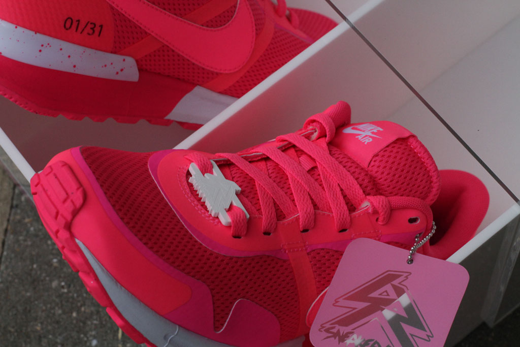 b20b0c83ae32 Sneaker Room Raises Funds for Breast Cancer Awareness with Limited ...