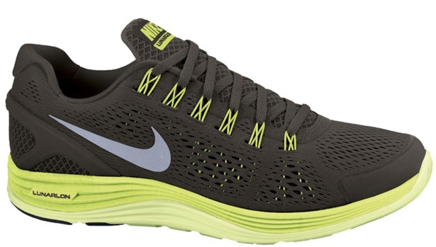 Nike Lunarglide+ 4 Sequoia/Reflective Silver-Electric Green-Liquid Lime