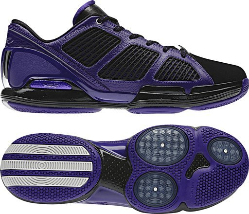 adidas adiZero Rose 1.5 Low - Black/Purple