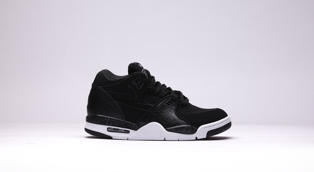 detailed look ff906 b9b42 The  Black Leather Reptile  Nike Air Flight  89 is available now at select  Nike Sportswear retailers overseas such as Afew with a stateside release to  ...