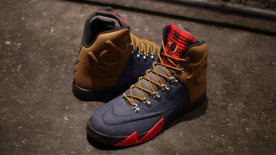 Nike KD VI NSW Lifestyle Peoples Champ denim colorway