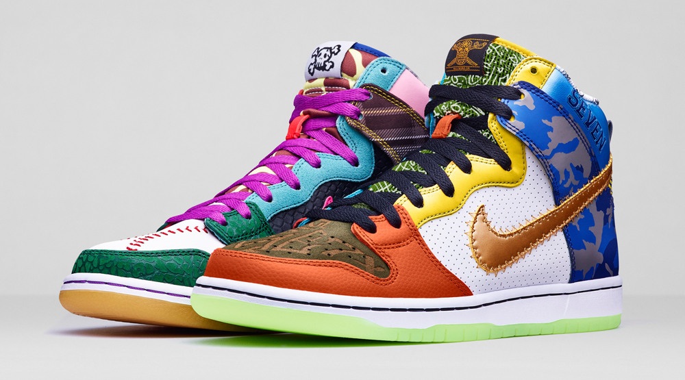 huge discount 0fc77 7278b Nike Created a  What the Doernbecher  Dunk   Sole Collector