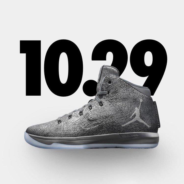 Air Jordan 31 Battle Grey Release Date Side
