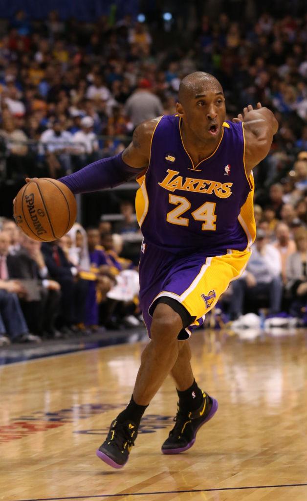 Kobe Bryant Wears \