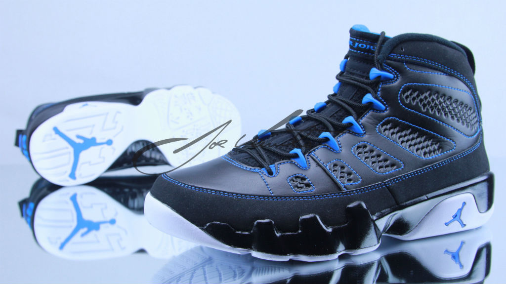 Air Jordan IX 9 Photo Blue White 302370-007 (1)