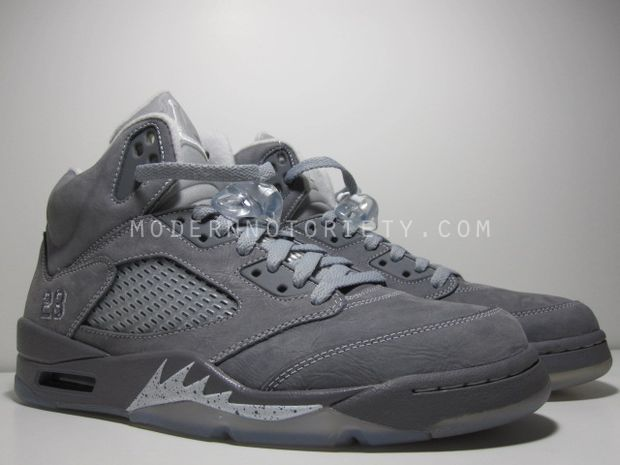 sports shoes ac9b3 bfc8e Air Jordan Retro 5 - Light Graphite/White-Wolf Grey - New ...