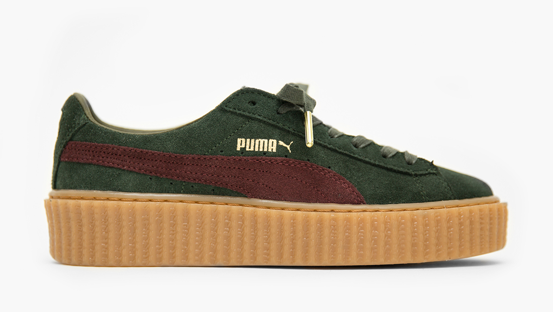 puma suede creepers x fenty by rihanna bordeaux puma. Black Bedroom Furniture Sets. Home Design Ideas