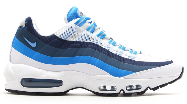 Nike Air Max 95 NS White / University Blue Profile