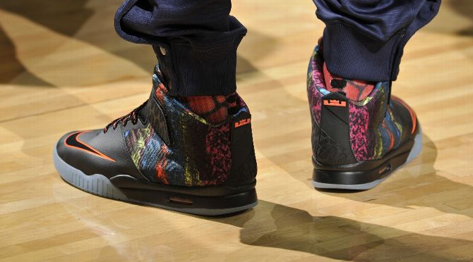 What Shoes Were Lebron Wearing Last Night